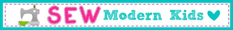 Sew Modern Kids banner