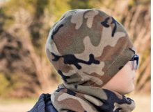 There is nothing like a fleecy hat to keep your head warm. This designer has made an awesome Beanie Hat Pattern which is FREE and which comes in four sizes. It's a great sewing project for beginners and it gives you an excuse to use up all your leftover fleece.