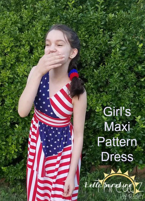 The Amelia is the perfect dress for any young girl. So why not get yourself this pattern and sew this amazing dress for your daughter, granddaughter, niece or friend of the family. It truly is a beautiful dress.