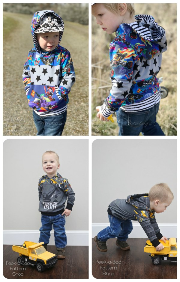 Freestyle Pullover Unisex sewing pattern (3mths to 12yrs)