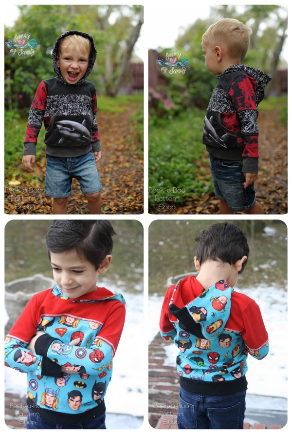 Freestyle Pullover Unisex sewing pattern (3mths to 12yrs).