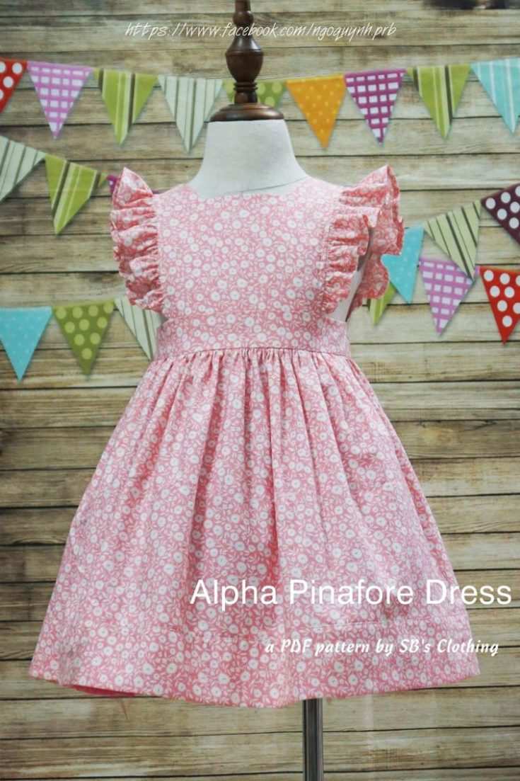Alpha pinafore dress