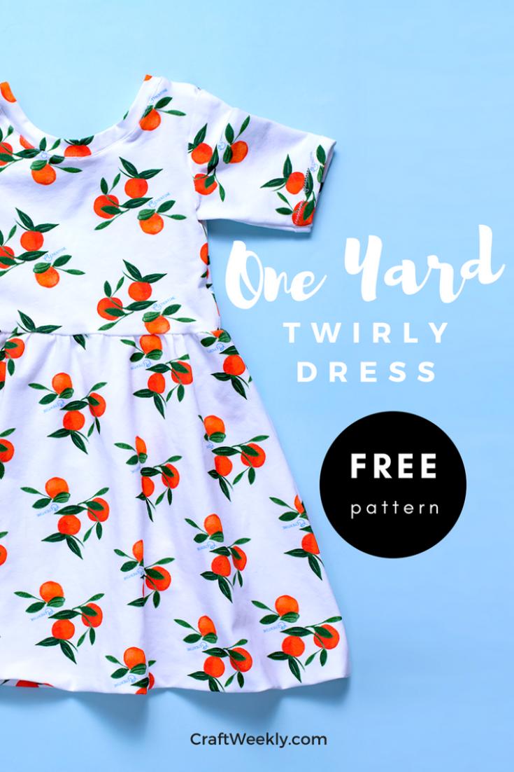 One Yard Twirly Dress