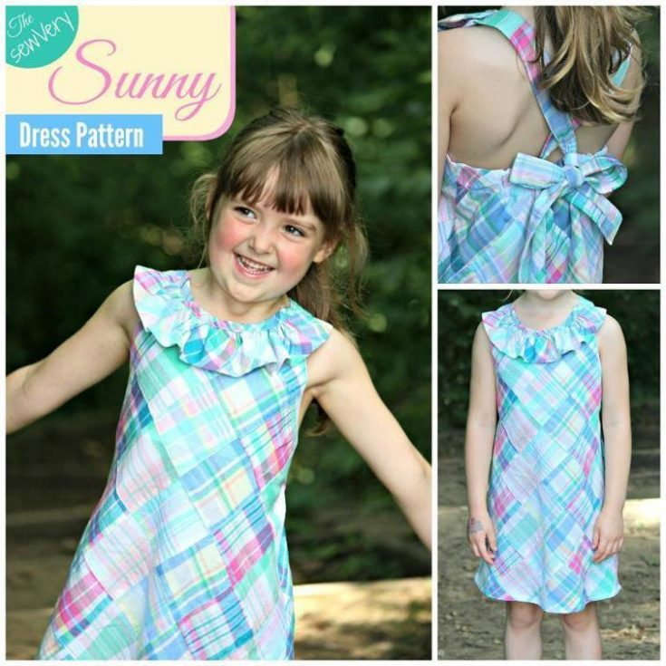 SewVery Sunny Dress Sizes 5,6,7