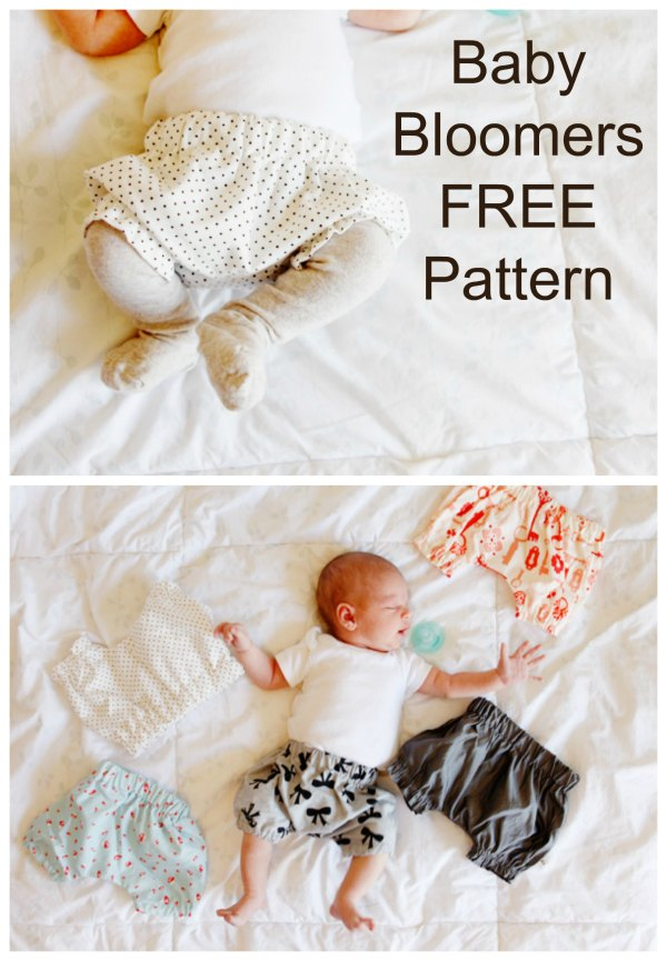 Baby Bloomers - FREE sewing pattern