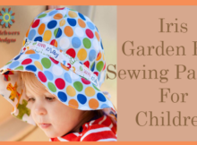 Iris Garden Hat Sewing Pattern For Children