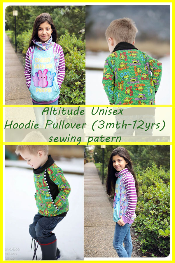 Altitude Unisex Hoodie Pullover (3mth-12yrs)