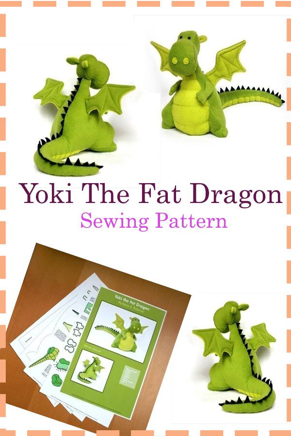 Yoki The Fat Dragon Pattern