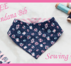 Free Bandana Bib Sewing Pattern