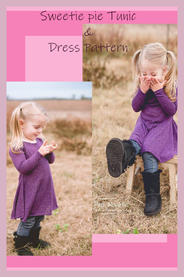 Sweetie pie Tunic & Dress Pattern