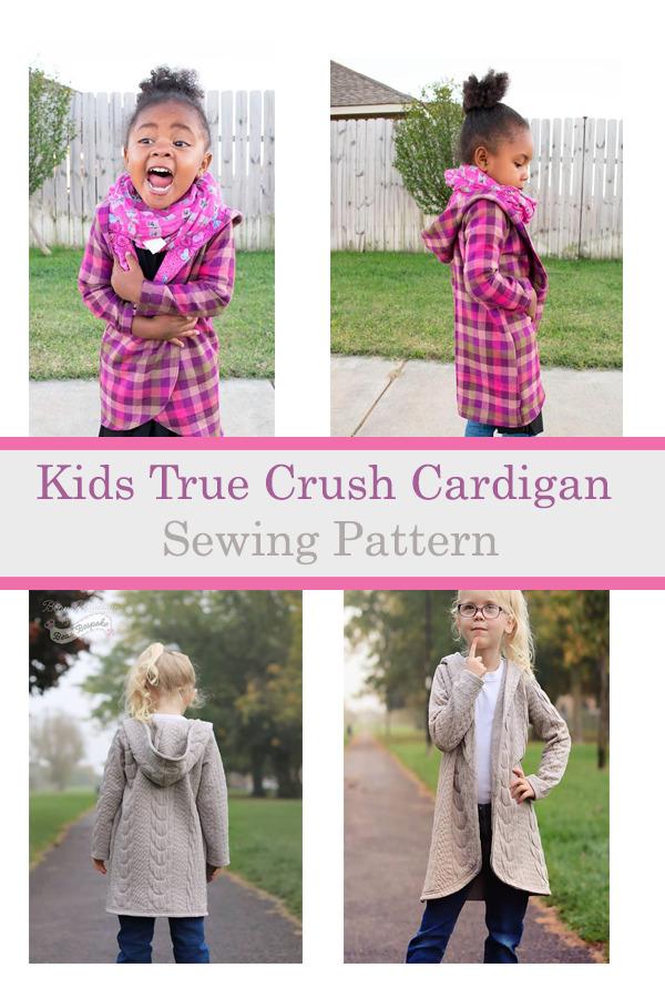 Kids True Crush Cardigan Pattern