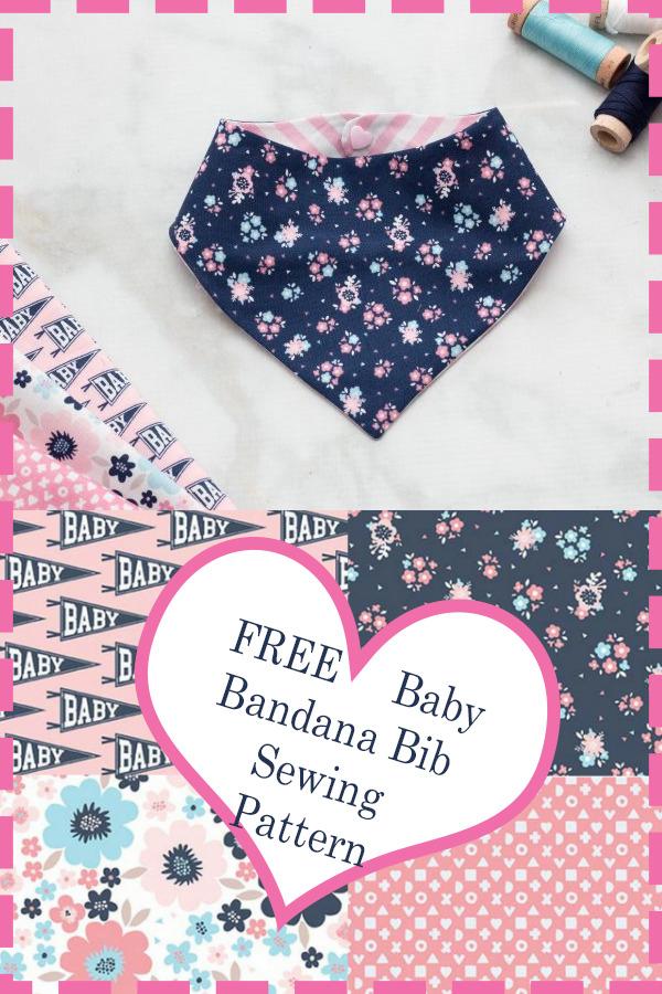 Free Bandana Bib Sewing Pattern