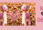 Cute Deer sewing pattern, plush toy