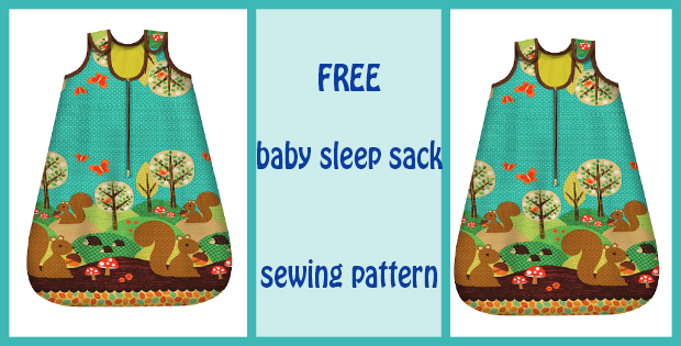 baby sleep sack sewing pattern