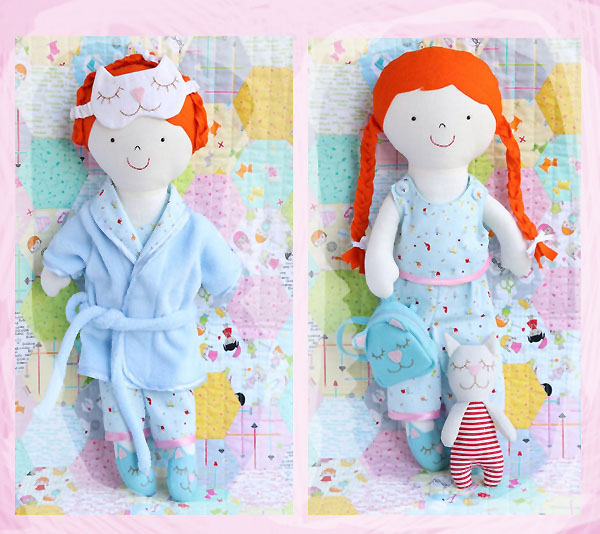 Addie The Rag Doll Sewing Pattern