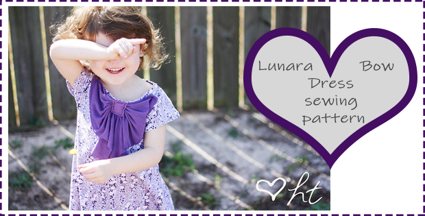 Lunara Bow Dress sewing pattern