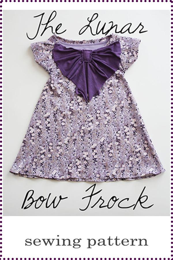 Lunara Bow FREE Dress sewing pattern