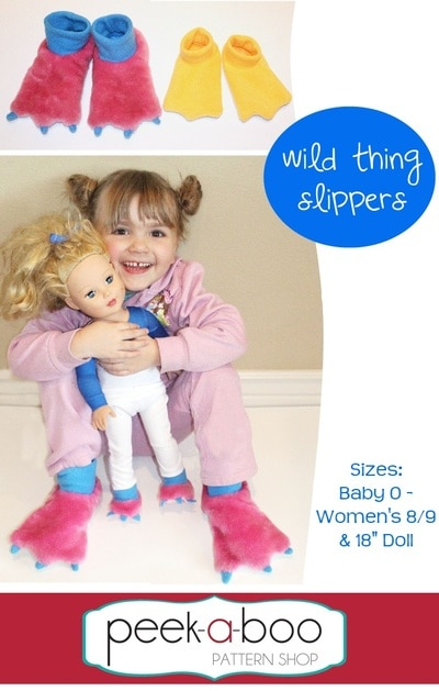 Wild Thing Slippers