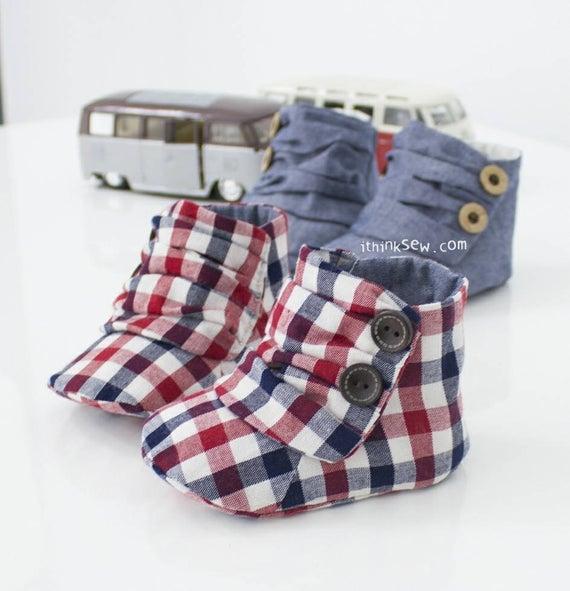 Jaden Baby Sneakers PDF Sewing Pattern (#73)