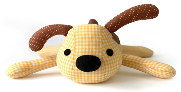 Dexter The Dog Sewing Pattern