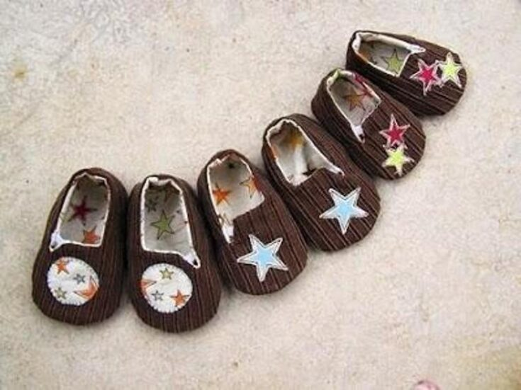Unisex Baby Shoe pattern in 3 sizes