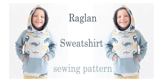 Raglan Sweatshirt sewing pattern