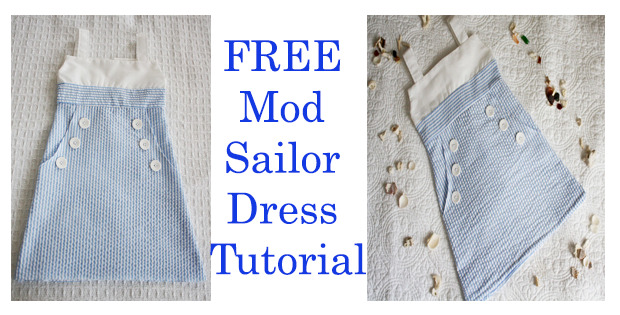 FREE Mod Sailor Dress Tutorial