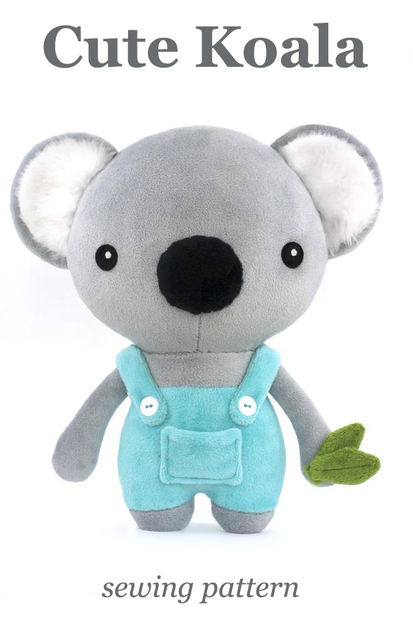 Cute Koala sewing pattern