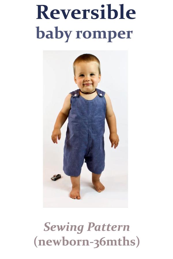 Reversible Baby Romper Pattern