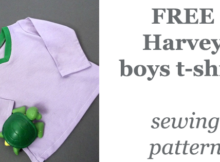 FREE Harvey boys t-shirt pattern