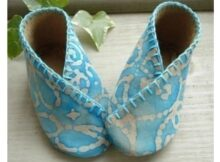 Baby Kimono Shoes sewing pattern
