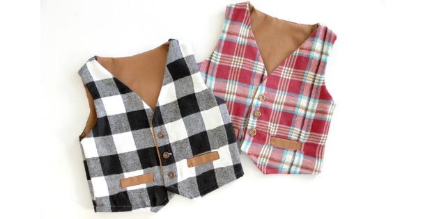 Boys Vest waistcoat FREE pattern