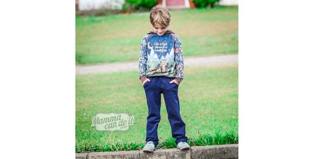 Fit versatile boy pants pattern (2T-20)