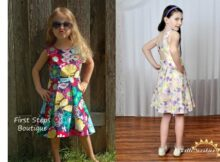 Rebel Girl Party Dress pattern (6m-12yrs)