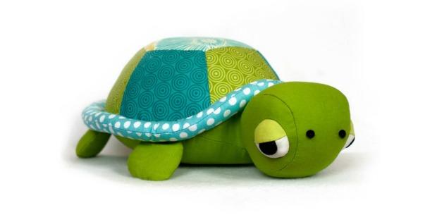 Turtle Plush Toy sewing pattern
