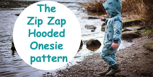 The Zip Zap Hooded Onesie pattern