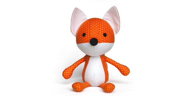 Fox Plush Toy sewing pattern
