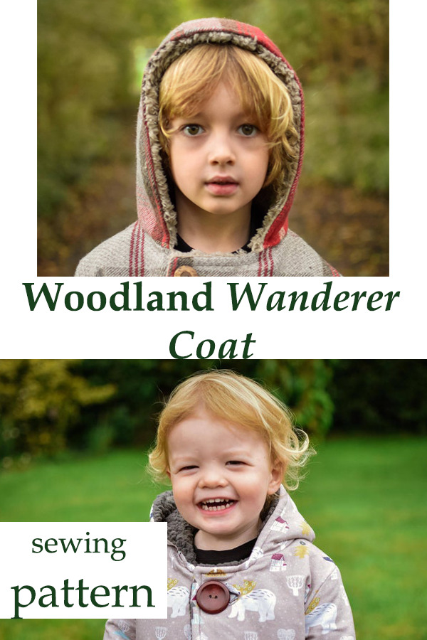 Woodland Wanderer Coat sewing pattern