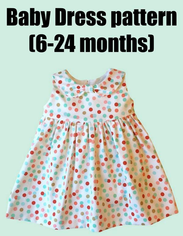 Baby Dress pattern (6-24 months)