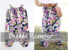 Bubble Romper for baby long pant style pattern