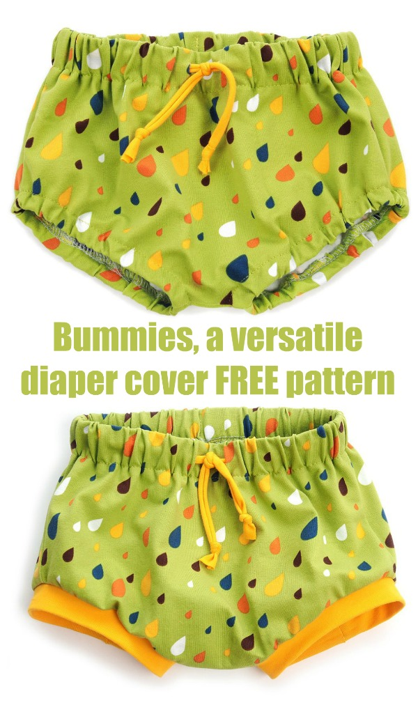 Bummies (a diaper cover) FREE pattern
