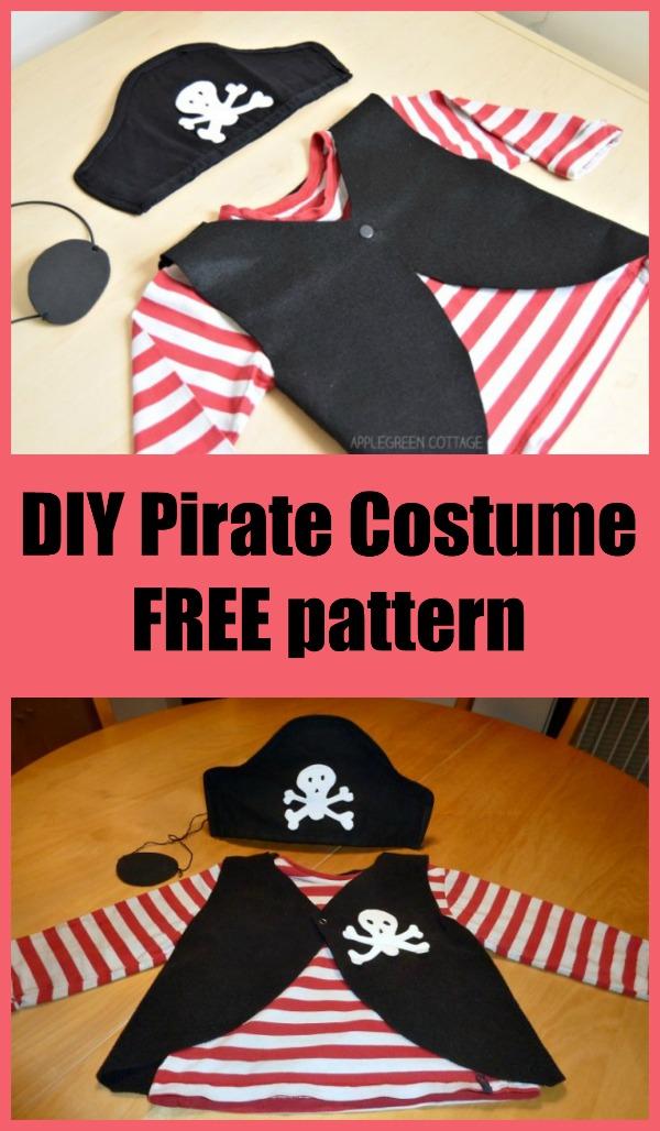 DIY Pirate Costume Free pattern
