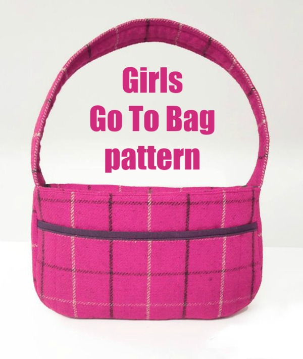 Girls Go To Bag sewing pattern