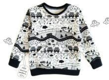 Kids Sweatshirt pattern (2-10 years)