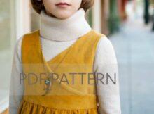 Louisa Pinafore Dress pattern