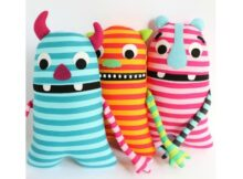 Monster Plush Toy pattern