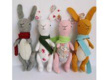 Rabbit Felt Bunny pattern