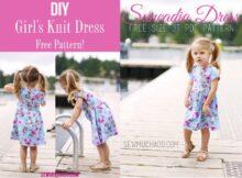 Suncadia Girl's Knit Dress free pattern