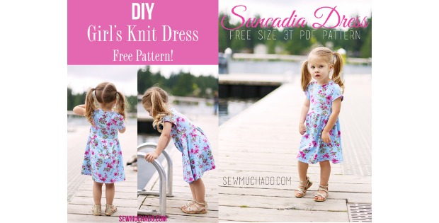 Suncadia Girl's Knit Dress free pattern