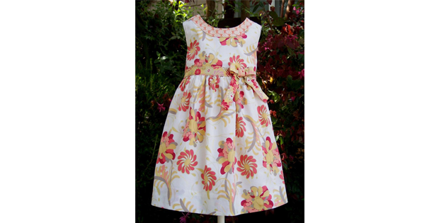 The Lillie May Girls Dress pattern (2-8 years)